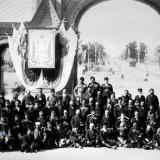 Екатеринодар. Приезд Александра III в Екатеринодар. У Триумфальной арки, 1888 год