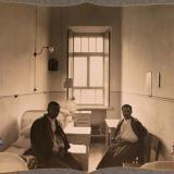 Екатеринодар. Раненые в двухместной палате для нижних чинов лазарета общины, 1915 год