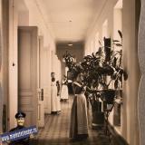 Екатеринодар. Сестры милосердия общины в коридоре общежития, 1915 год