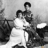 Екатеринодар. Сёстры Сезоненко. 21 августа 1905 года.