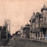 Екатеринодар. Угол Кирпичной (Чапаева) и Бурсаковской (Красноармейской) улицы