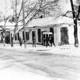 Краснодар. Угол улиц Красноармейской и Орджоникидзе, вид на северо-восток, 1975 год.