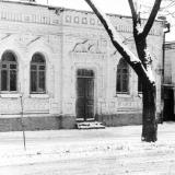 Угол улиц Красноармейской и Орджоникидзе, вид на юго-восток, 1970 год