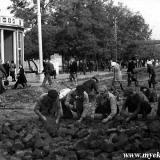 1949 год. Снятие путей с ул. Красной