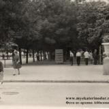 Краснодар. Угол улиц Красной и Ленина (Соборной), вид на север, начало 60-х