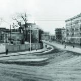 Краснодар. Угол улиц Мира и Ленина, 1955 год