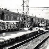 Вид на почтово-багажный поезд, 1978 год
