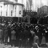 Екатеринодар. Закладка дома им. Г.А. и Н.Л. Тарасовых на ул. Графской.