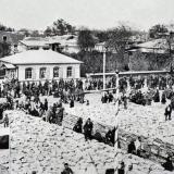 Екатеринодар. Закладка собора св. Екатерины, 1900 год