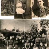 Фронтовики. Макарец Мария Дмитриевна и Макарец Федор Иванович