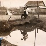 Краснодар. Свиной хутор, Северный канал, пересечение с ул. Аэродромной, 1950 год