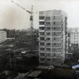 Краснодар. Гидрострой. Строительство дома №74, 1977 год