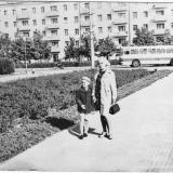 Краснодар. Перекресток ул.Красной и Офицерской, 1974 год
