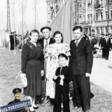 Краснодар. 1 мая 1953 года. Улица Зиповская.