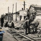 Краснодар. 1934 год. Угол улиц Мира и Суворова, вид на запад
