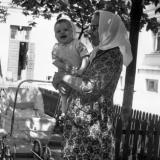 "Краснодар.1970 г. Двор ""сединского"" дома. ул. Красная №78."