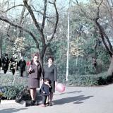 Краснодар. В Первомайском сквере 7 ноября 1971 года.