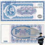 Краснодар. Билет МММ - 500 (Первая серия) Печать Объединение МММ г. Краснодар 2