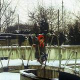 Краснодар. У здания цирка, 1987 год