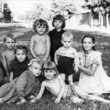 Краснодар. Дети краснодарской Дубинки, 1957 год
