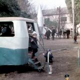 """Краснодар. Детская площадка в скверике """"Со слоном"""", осень 1972 года"""