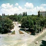 Краснодар. Детский сквер на ул.Мира, 1977 год.