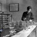 Краснодар. Дворец пионеров. Авиамодельный кружок, 1936 год