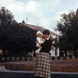 Краснодар. Фонтан на ул. Красной, 1982 год.