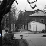 Краснодар. Угол Октябрьской и Коммунистической, вид на север.