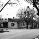 Краснодар. Перекрёсток улиц Октябрьской и Горького. Вид на северо-запад.