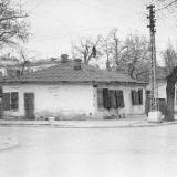 Краснодар. На углу Красноармейской и Орджоникидзе, вид на северо-запад, 10 апреля 1965 год.