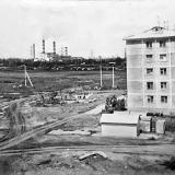 Краснодар. Гидрострой. Начало. улицы. Игнатова, дом № 63. 1975 год.