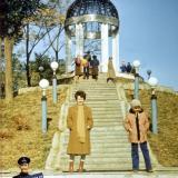 Краснодар. Горка в горпарке, 1982 год