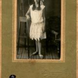 Краснодар. Фото девушки. Фотограф Горностаев И. Фото 1930-х годов.