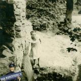 Краснодар. Горпарк. У водопада. 1950-е