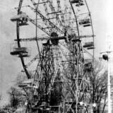 Краснодар. Колесо обозрения в Горпарке, 1965 г.