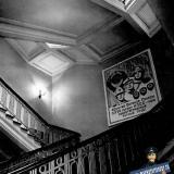 Краснодар. Интерьеры гарнизонного дома офицеров. Главная лестница. 1-2 этаж.