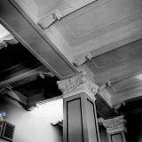 Краснодар. Интерьеры гарнизонного дома офицеров. Потолки вестибюль 1-й этаж.