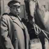 Краснодар. Буденный С.М. на Краснодарском ипподроме, 13.09.1948