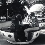 "Краснодар. Кафе летнее ""Краснодарский чай"" по ул. Красной 109, 1988 год"