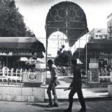 Краснодар. Кафе у Театра Опереты, Красная, 40. 1987 год