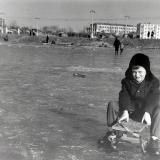 Краснодар. Карусун Покровский зимний, 1964 год.