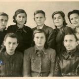 Краснодар. Комсомольцы 1940-х. 1946 год