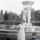 Краснодар. Краевая Сель-Хоз. и Пром. выставка, фонтан, 1970-е годы