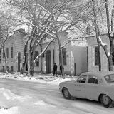 Краснодар. Красная 146, 144 и 142. Вид на север. 22.12.1978 года