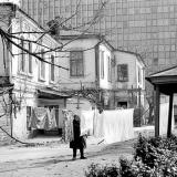 Краснодар. Красная, 97. Двор. Сушка белья. 23.03.1981