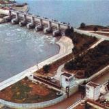 Краснодар. Фёдоровский гидроузел, 1976 год.