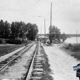 Краснодар. Линия Пашковского трамвая в районе городской межи, 30-е гг.