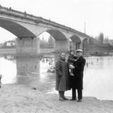 Краснодар. Мост через р. Кубань, 1950-е годы