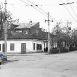 Краснодар. На перекрёстке улиц Шаумяна и Клары Цеткин, январь 1967 год. Фото 1